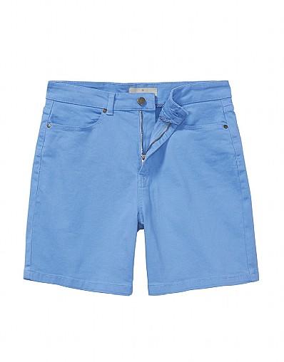 5 Pocket Shorts In Chambray
