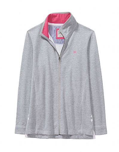 ZIP THROUGH SWEATSHIRT