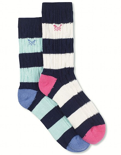 2 Pack Cable Socks