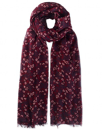 Tilly Mosaic Floral Scarf