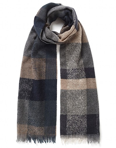 Cevedale Check Scarf