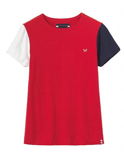 Crew Club Padstow Womens Tee