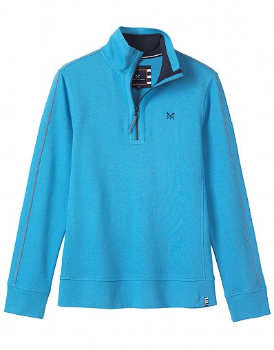 Crew Club Paignton Half Zip Womens Sweat