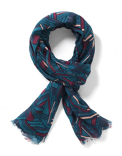 Townscape Print Scarf