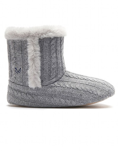 Cable Slipper Boot