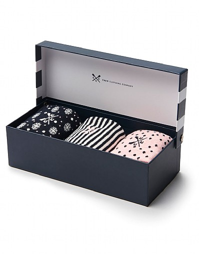 3 Pack Sock Box