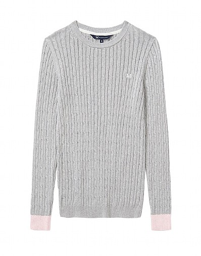 Heritage Cable Crew Neck Jumper