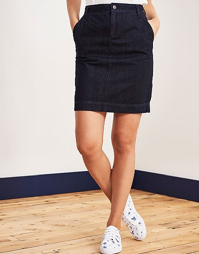 Stockists of A-Line Denim Skirt
