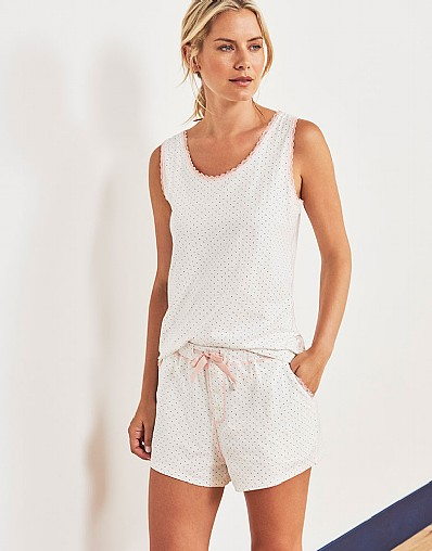 Lounge Vest & Shorts Set