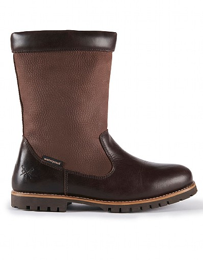 Hendon Waterproof Country Boots in Brown