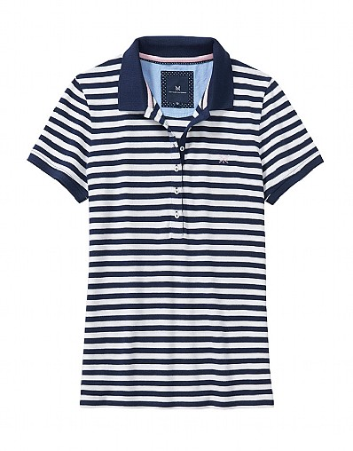 Classic Polo Shirt In Navy