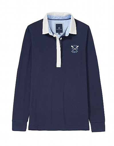 Classic Anniversary Rugby Shirt In Navy