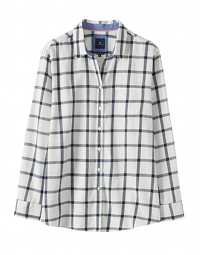 Weekend Flannel Shirt in White