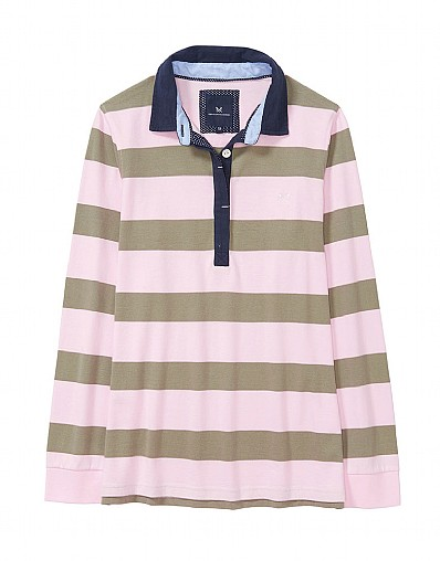 Rugby Shirt in Pure Pink