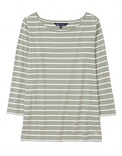 Essential Breton T-Shirt in Green