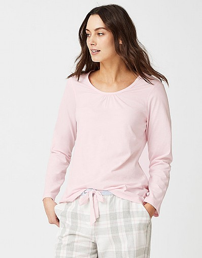 Ruched Pyjama Top