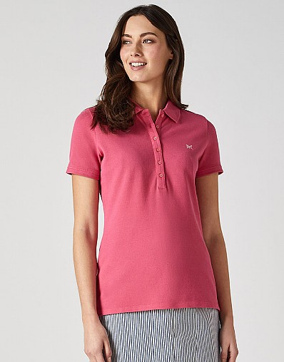 Classic Polo Shirt in Summer Pink