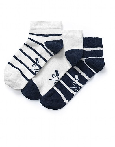 Stockists of 3 Pack Trainer Socks