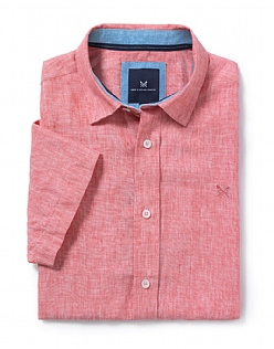 Banstead Short Sleeve Linen Shirt