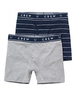2 Pack Jersey Thin Stripe Boxers