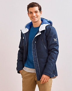 Crew Club Insulated Mens Weather Jacket