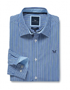 Crew Slim Fit Stripe Shirt