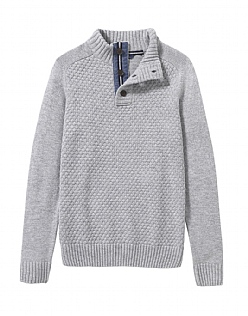 Fonthill Half Button Jumper
