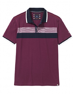 Crew Club Calborne Short Sleeve Mens Polo