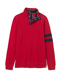 Crew Club Trevone Half Zip Mens Sweat