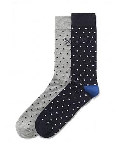 2 Pack Spot Socks