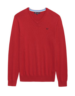 Foxley V-neck Jumper