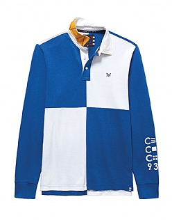 Crew Club Men's Long Sleeve Rugby