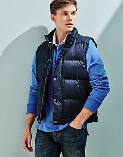 Ridley Gilet In Navy