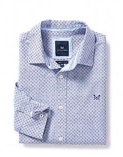 Feniton Slim Fit Shirt in Navy