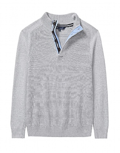 Marwood Half Button Knit
