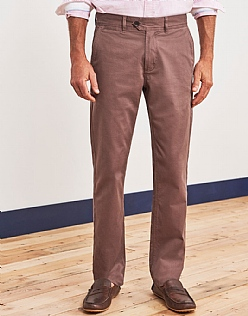 Crew Trouser in Taupe Brown