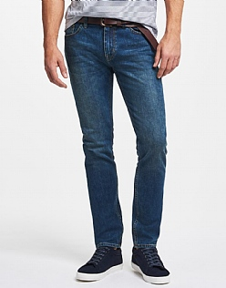 Spencer Slim Leg Jean In Antique Blue