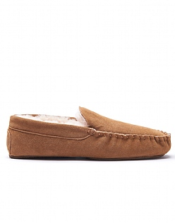Sheepskin Moccasin Slipper