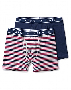 2 Pack Multi Stripe Boxers