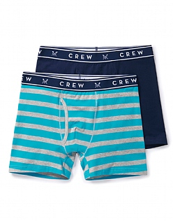 2 Pack Oxford Stripe Boxers