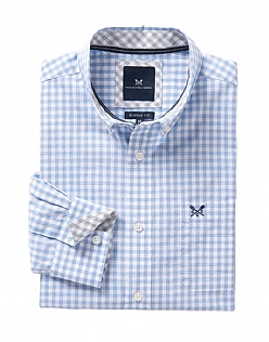 Portloe Classic Fit Gingham Shirt