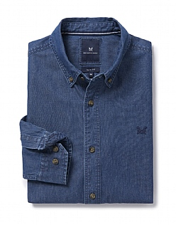 Darwell Slim Fit Denim Shirt