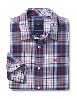 Towan Slim Fit Check Shirt