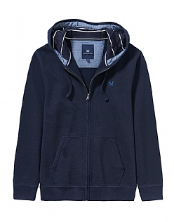 Crosscombe Beach Zip Through Sweatshirt