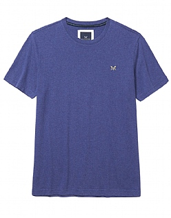 Crew Classic T-Shirt In Bright Navy Marl