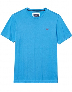 Crew Classic T-Shirt In Salcombe Blue