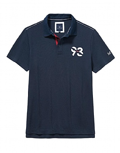 Crew 93 Short Sleeve Rugby Shirt