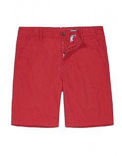 Bermuda Shorts In Classic Red
