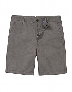 Bouley Linen Shorts In Soft Grey