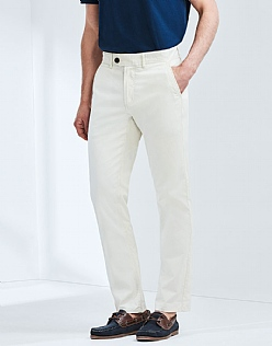Crew Trouser In Pale Stone